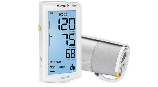 BP A7 Touch - kosketuksen voimalla toimiva verenpainemittari