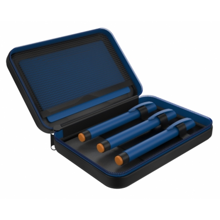 EasyBag Classic -laukkuun mahtuu kolmesta viiteen insuliinikynää.