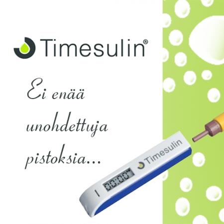 Reistaileeko muisti? Timesulin muistuttaa insuliinin pistämisestä!